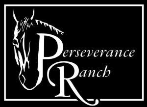 Perseverance ranch black logo